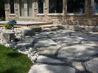 Natural Stone Specialist armourstone, steps, retaining wall