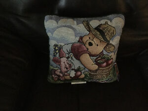 Winnie the Pooh Pillow 100 Acre Collection (three)