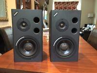 Alesis M1 MK2 active studio monitors pair