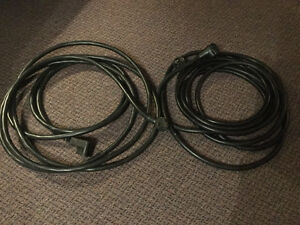 2 Heavy duty extension cords for RV use