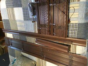 3 stores hunter douglas en bois pour baie window Saguenay Saguenay-Lac-Saint-Jean image 2