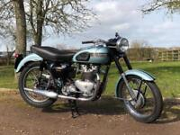 Triumph Tiger 100 1954 500cc Matching Number. Classic British Motorcycle!
