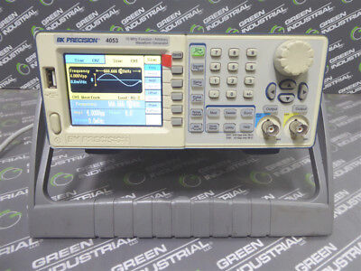 Used Bk Precision Model 4053 10 Mhz Function Arbitrary Waveform Generator