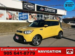 2016 Kia Soul SX Luxury  NAV LEATH PANO-ROOF CAM HS 10W-P/SEAT 1