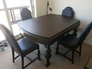 Antique dining set for sale