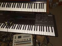Roland JX10 & PG800 controller