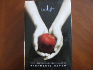 HARD  COVER  BOOK  WITH  JACKET  -  TWILIGHT