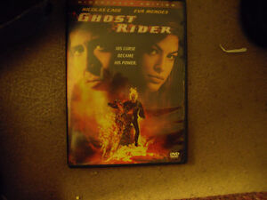 Ghost Rider with Nicolas Cage & Eva Mendes on DVD Windsor Region Ontario image 1