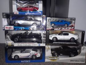 Diecast collectibles - Mustangs and Shelbys