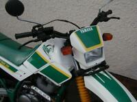 YAMAHA XT225 SEROW 1990 WHITE/GREEN ORIGINAL & TIDY
