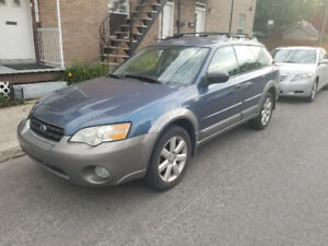 Subaru outback 2006 full equipped et automatique