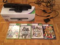Kinect pour Xbox 360 avec jeux
