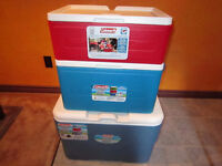 Coleman Party Stacker Cooler 3PC Set