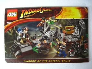 Lego set 7196 Indiana Jones , Chauchilla Cemetery Battle Complet