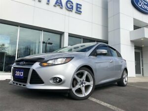 2013 Ford Focus TitaniumJUST TRADED, ONE OWNER , LEATHER SEATING