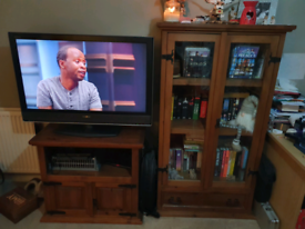 Tv unit and cabinet - solid oak