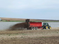 Manure spreading/feedlot cleaning/manure pilling