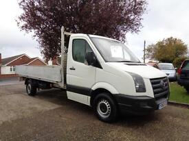 VOLKSWAGEN CRAFTER 2.5 TDi | DROPSIDE - LWB | 1 OWNER | FULL VW HISTORY | 2010