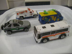 ....Four OLD MATCHBOX DINKY TOYS....