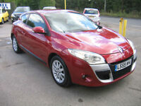 59 REG RENAULT MEGANE 1.6 COUPE VERY LOW MILEAGE,AT ONLY £4995