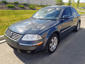 VW Passat, 2003, 2.8l V6. Fully loaded excellent condition
