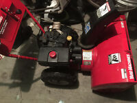 "Yard Machine 10hp 28"" snow blower"