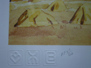 """Initialed A.J. Casson-""""Harvest Time"""" Artists Proof Kitchener / Waterloo Kitchener Area image 7"""