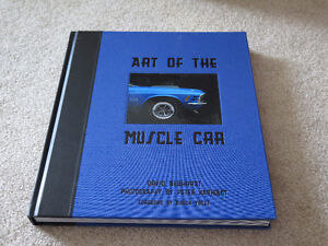 Art of the Muscle Car Hardcover Book