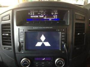 Mitsubishi Pajero car DVD GPS support Rockford free reverse camer Revesby Bankstown Area Preview