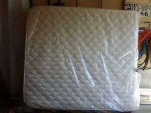 King size mattress with spread and pillows. All Brand new