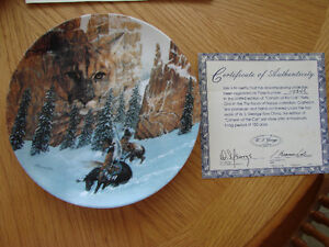 """ Canyon of the Cat"" Collector Plate Belleville Belleville Area image 1"