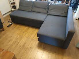 SOLD IKEA FRIHETEN CORNER SOFA BED LOCAL DELIVERY AVAILABLE!