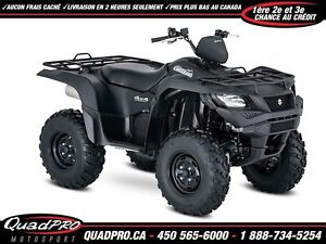 2017 Suzuki KingQuad 500AXi Power Steering 40,73$/SEMAINE