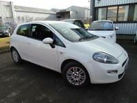 2014 Fiat Punto 1.2 Easy - White - Platinum Warranty!