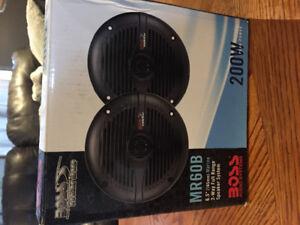 200W Boss Speakers