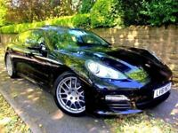 **IMMACULATE** 2011 PORSCHE PANAMERA D 3.0 V6 TIPTRONIC AUTO BLACK DIESEL