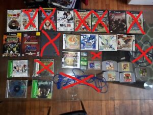 Gamecube, N64, Nintendo DS, PS1 Games!