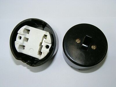 Old Bakelite Wall Light Switch Switch Ap cross Switch, Loft Design