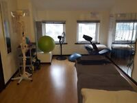Therapy / Physio / massage room in gym