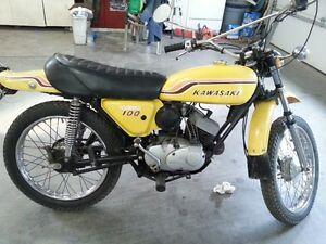1971 Kawasaki G5100 Street & Trail