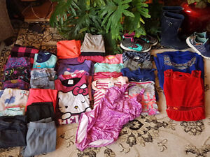 Girls size 10 to 12 clothe and shoes!!! Prince George British Columbia image 1
