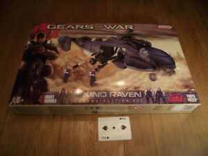 Meccano Gears of War King Raven Helicopter