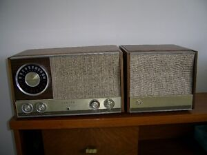 ZENITH AM-Stereo FM Receiver & Matching Speaker
