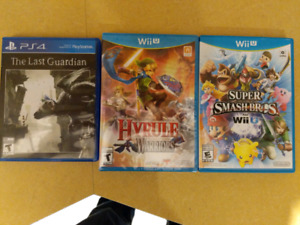 Wii/PS4 U Games