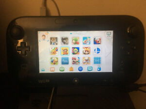 Modded Wii U with 10 games + external HDD