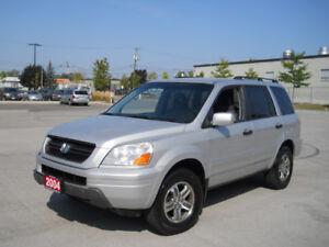 2004 Honda Pilot 8 passenger, Automatic, 3/Y warranty available