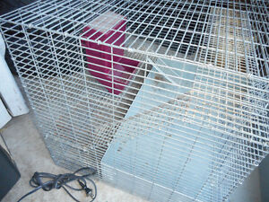 large gerbal or chincila or rabbit cage