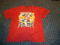 Boys Size 5 Trick Four Wheeler Print Short Sleeve T-Shirt
