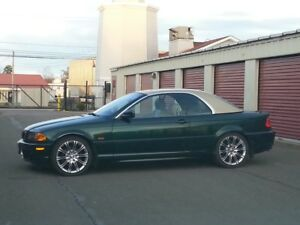 2001 BMW 325ci Convertible with Removable Hard Top, low Kms