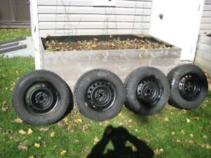 Toyota rims and winter tires